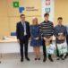 Uczestnicy konkursu edukacyjnego z Zespołu Szkół numer 1 ze Swarzędza
