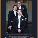 Plakat koncertu tenorów w Stęszewie na 27 października 2019