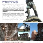 Plakat na luboński szlak turystyczny