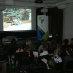 widownia oglądająca filmy konkursowe