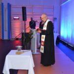 uroczystość otwarcia szkoły w Murowanej Goślinie po rozbudowie