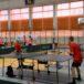 dzieci uczestniczące w Igrzyskach Dzieci w tenisie stołowym