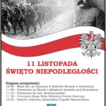 Plakat 11 listopada w Kostrzynie