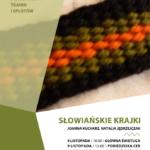 Plakat Słowiańskie Krajki 9 listopada