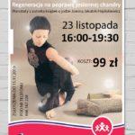 plakat jogi relaksacyjnej 23 listopada 2019 godz. 16:00-19:30
