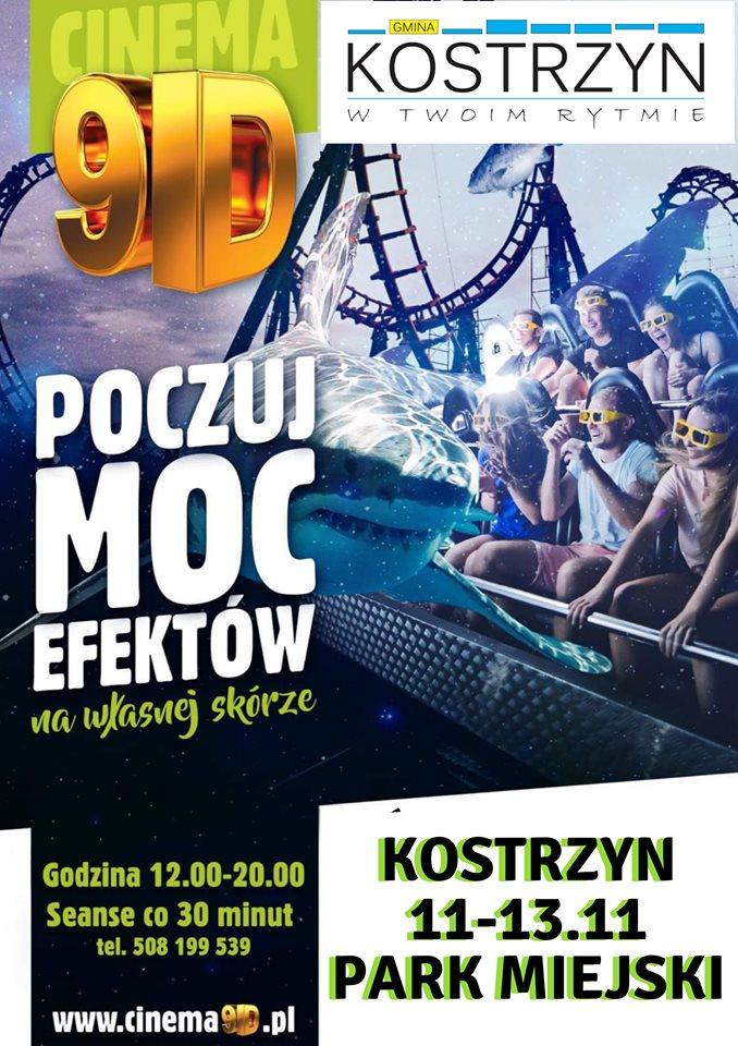 Kino 9D w Kostrzynie