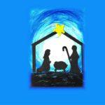 stajenka ukazująca Maryję, Józefa i Jezusa
