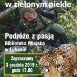 Plakat Lubonianin w zielonym piekle 3 grudnia 2019 godz. 17