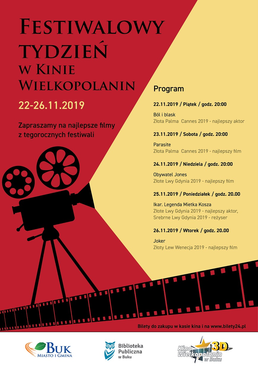 Festiwal w kinie Wielkopolanin