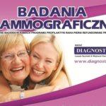 zapowiedź badan mammograficznych