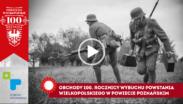 kadr z filmu o obchodach 100. rocznicy wybuchu powstania wielkopolskiego w powiecie poznańskim