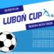 Plakat cyklu Turniejów Piłkarskich dla dzieci i młodzieży Luboń Cup