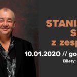 zapowiedź Stanisław Soyka z zespołem 10 stycznia 2020 godz. 19