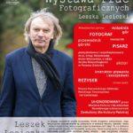plakat wystawy prac fotograficznych Leszka Lesiczki