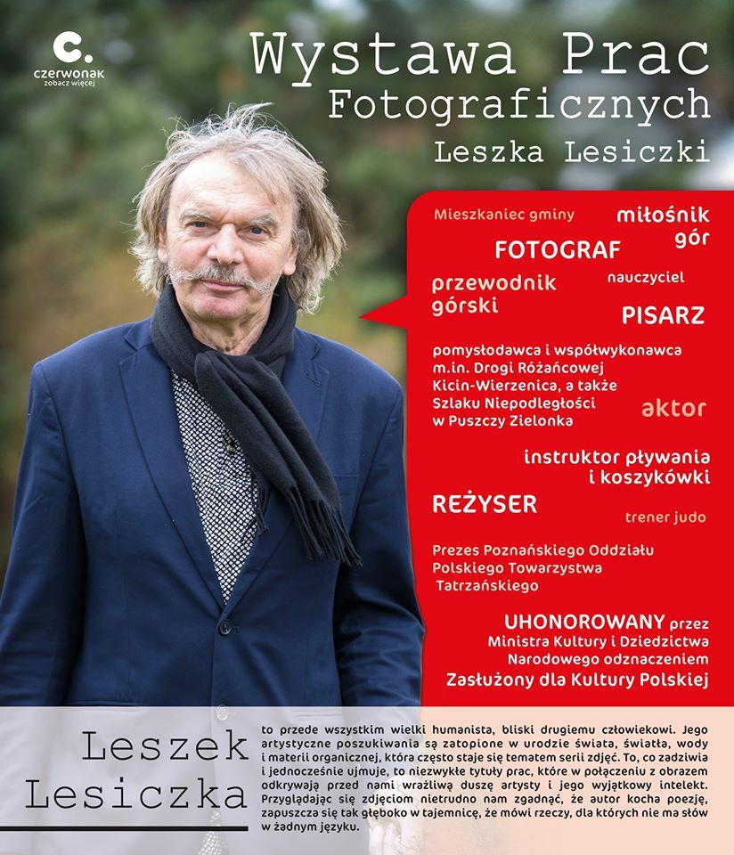 Wernisaż Leszka Lesiczki
