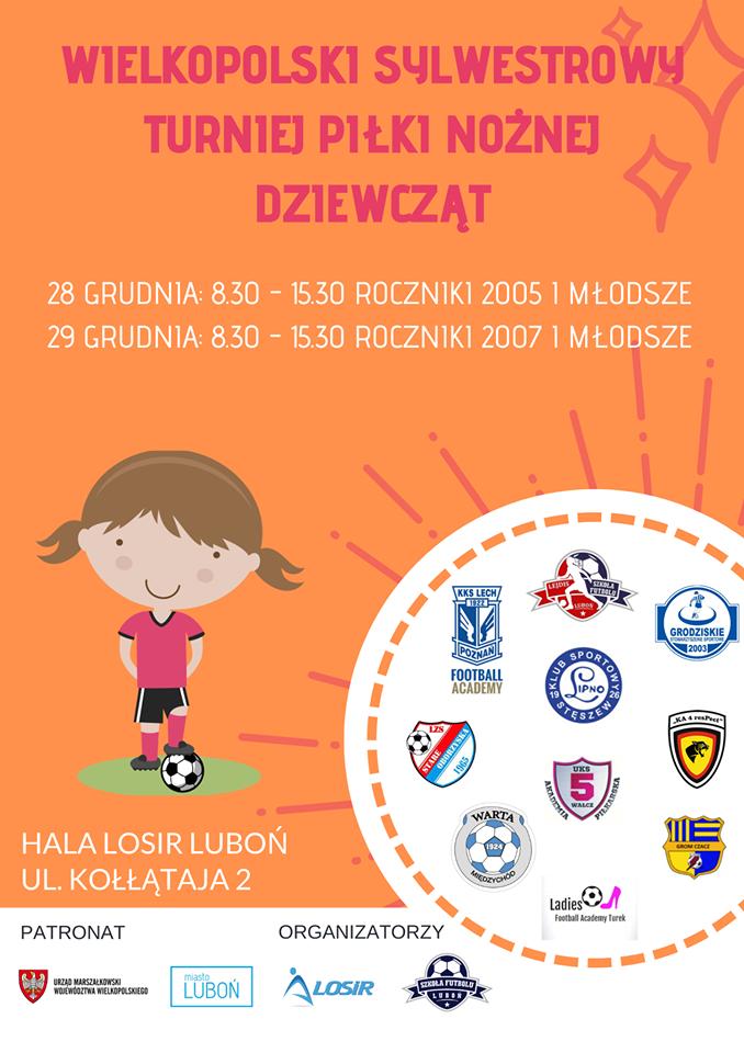 Wielkopolski Sylwestrowy Turniej Piłki Nożnej Dziewcząt