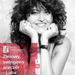 plakat koncertu - Zimowy, swingowy wieczór Lidia Leitgeber w Pałacu Jankowice