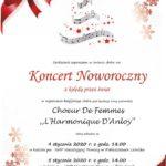 plakat koncert noworoczny z kolędą przez świat 4-5 stycznia 2020