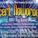 zapowiedź koncertu noworocznego w Murowanej Goślinie 2 stycznia 2020