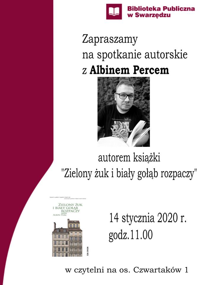 Spotkanie autorskie z Albinem Percem