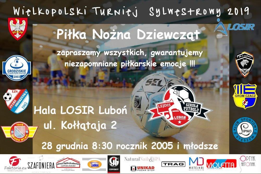 Wielkopolski Turniej Sylwestrowy rocznik 2005 i młodsze