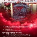 plakat 101 rocznicy powstania wielkopolskiego