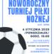plakat noworocznego turnieju piłki nożnej 6 stycznia 2020 godz. 10 Buk