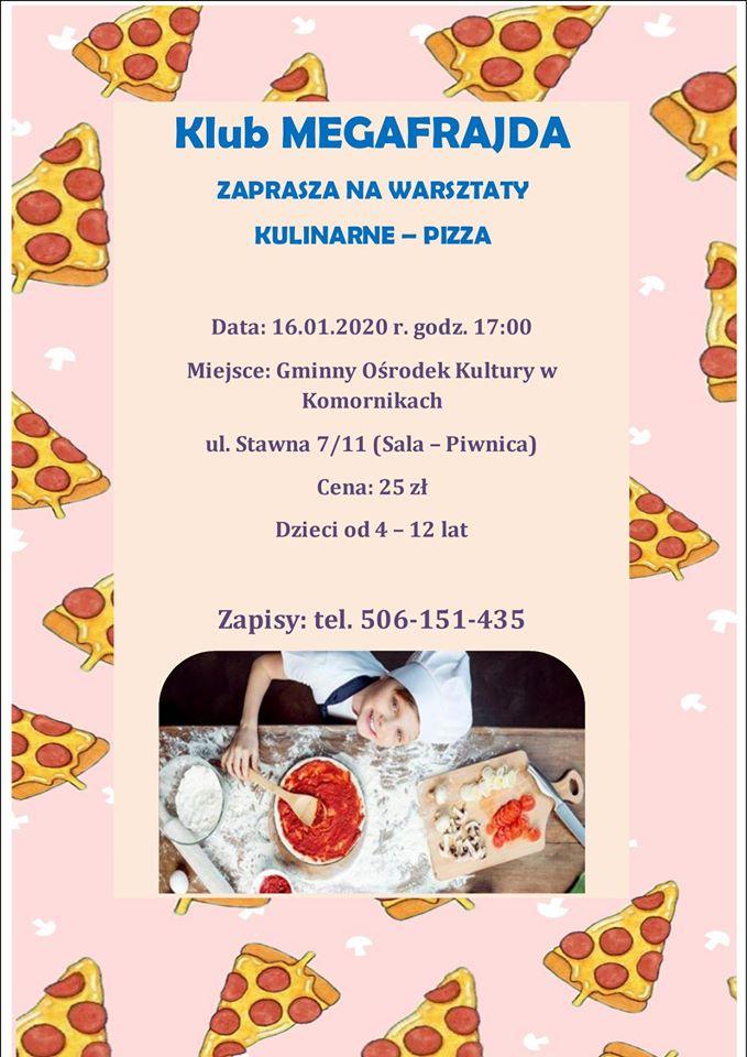 Kulinarne warsztaty dla dzieci- pizza