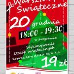 warsztaty świąteczne 20 grudnia godz. 18-19:30