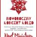 Noworoczny Koncert Kolęd - plakat - 5 stycznia 2020 GOKiS w Kleszczewie