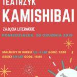 plakat tatrzyku kamishibai w poniedziałek 30 grudnia 2019