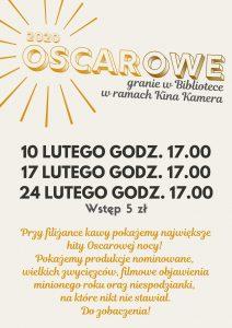 Oscarowe hity 2020 w Bibliotece