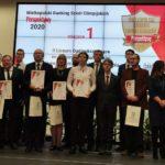 Uczestnicy gali rankingu liceów i techników wielkopolski