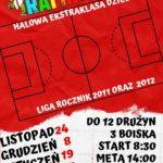 Plakat na zwody piłkarskie w Mosinie Zima 2020
