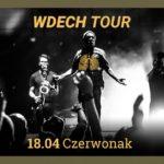 Plakat Wdech Tour na 18 kwietnia 2020
