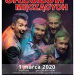 Plakat na kabaret na 1 marca 2020
