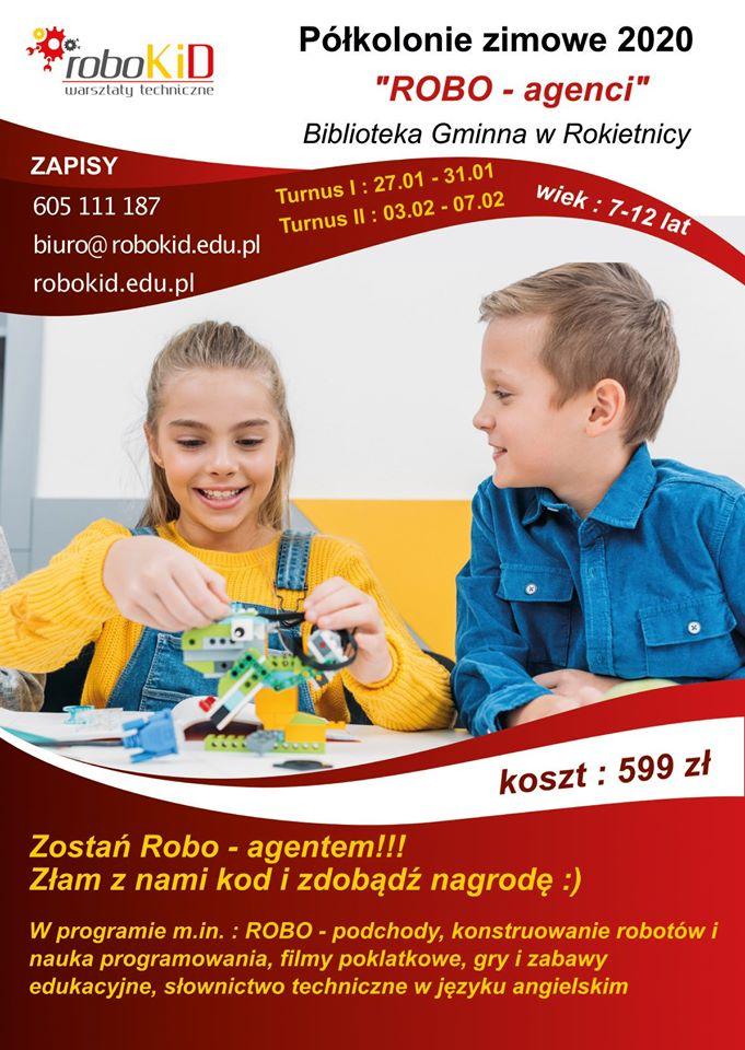 """""""Robo-agenci"""" - ferie w Rokietnicy"""