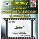 Plakat dyskusyjnego klubu filmowego na 22 stycznia 2020