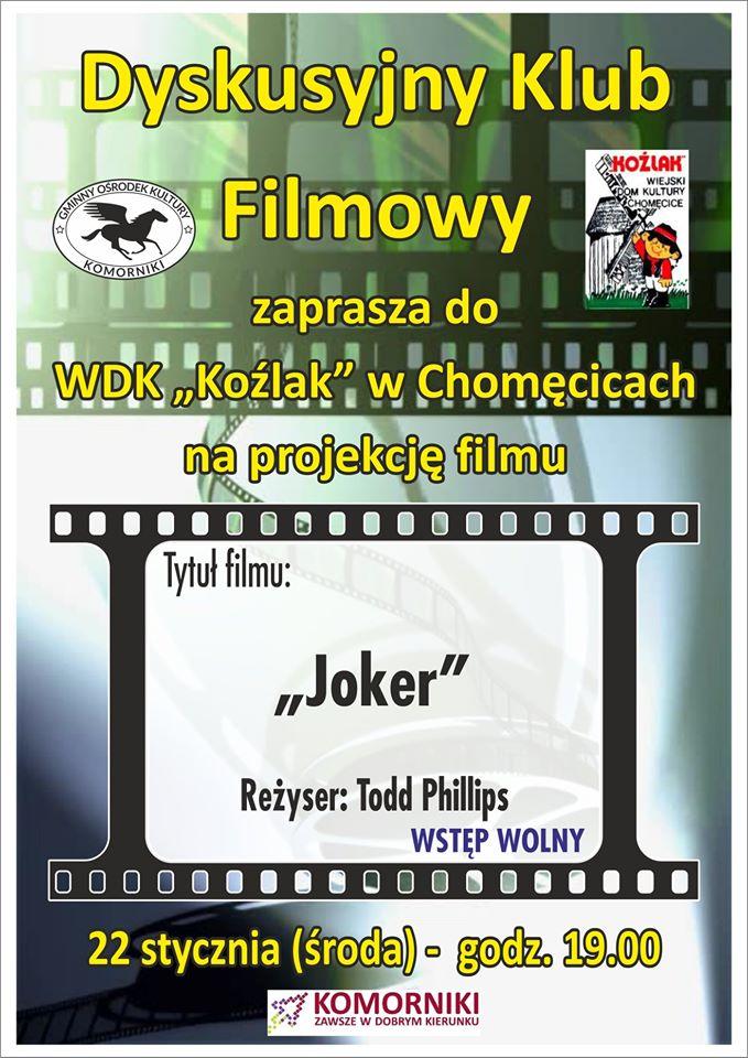 """Joker w WDK """" Koźlak"""""""