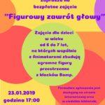 Plakat na zajęcia dla dzieci na 23 stycznia 2020 w Murowanej Goślinie