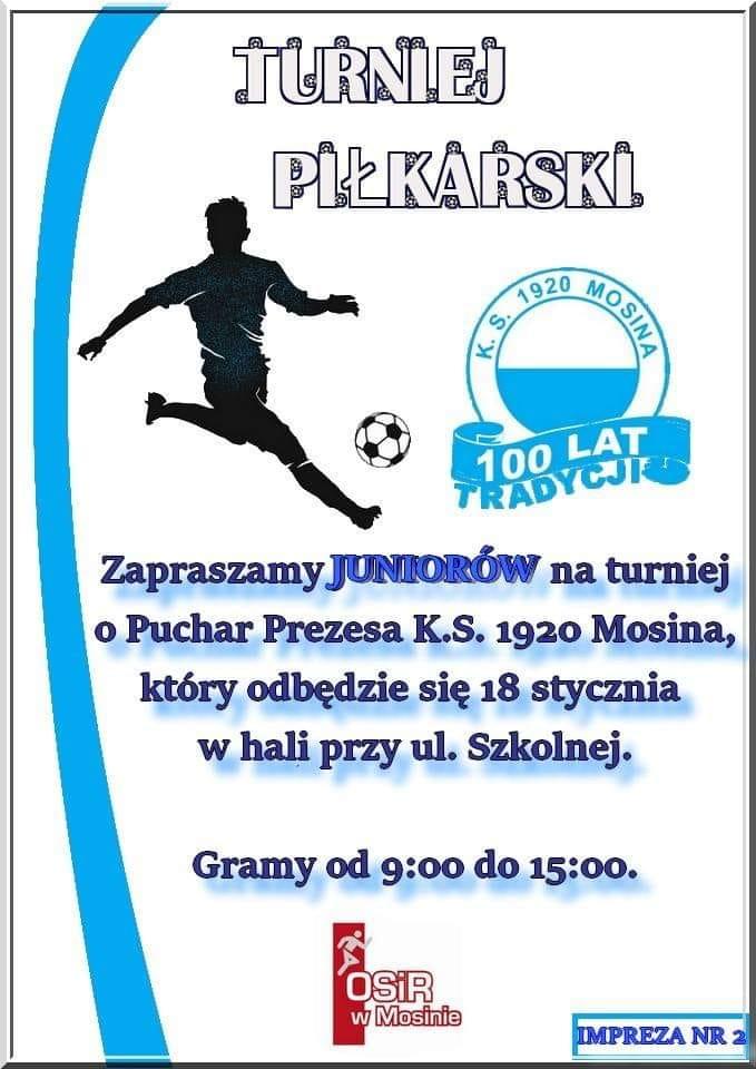 Turniej Piłkarski w Mosinie