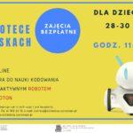 Plakat ferii zimowych 2020 w Owińskach