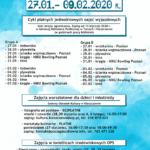 Plakat półkoloni zimowych 2020 w Kleszczewie