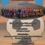 Plakat na turniej piłkarski w Kostrzynie na 25 stycznia 2020