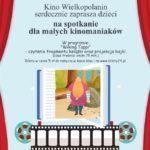 Plakat na Bajkowe Czytanki na 18 stycznia 2020