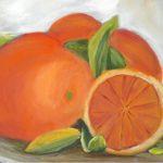 Obraz z pomarańczami