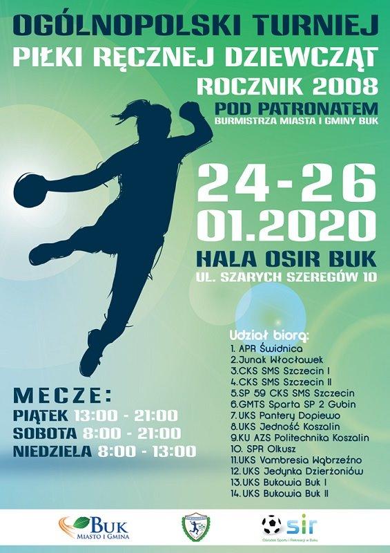 Ogólnopolski Turniej Piłki Ręcznej Dziewcząt