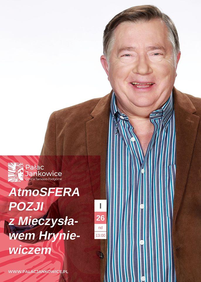 Atmosfera poezji z Mieczysławem Hryniewiczem