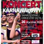 Plakat na koncert na 26 stycznia 2020