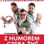 Plakat na kabaret Paranienormalni